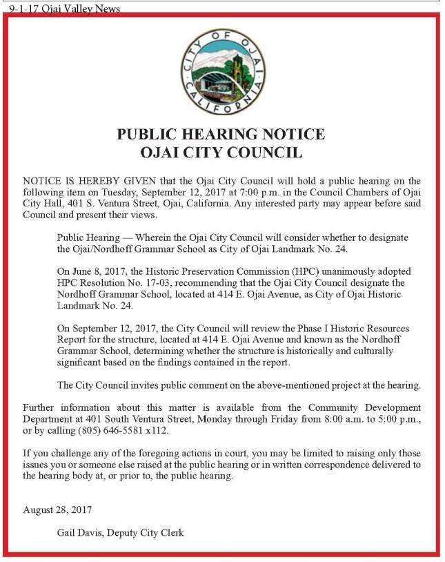 9-1-17 OVN Ojai City Council Public Hearing Notice (2).jpg